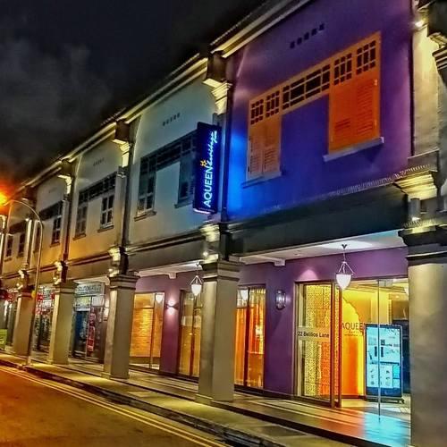 Aqueen Heritage Hotel Little India in Singapore.