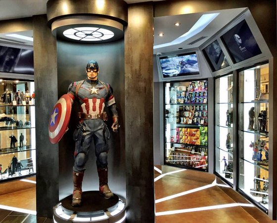 Collectibles Store in Singapore - Action City.