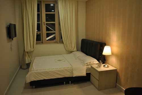 Deluxe Room at Jayleen Clarke Quay Hotel in Singapore.