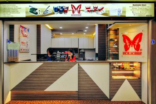 Dura Chops store at Far East Plaza in Singapore.