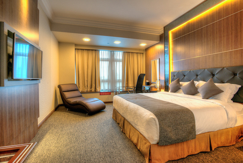 Executive Room at Orchid Hotel in Singapore.