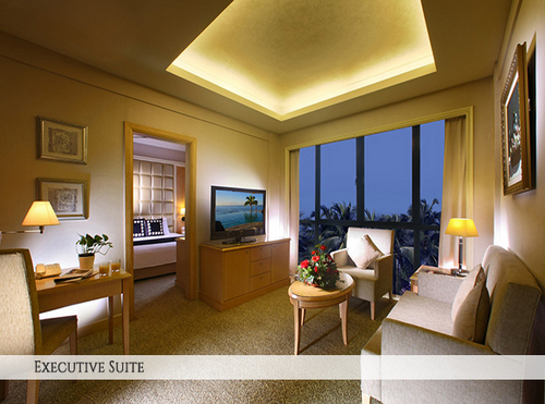 Executive Suite at Quality Hotel Marlow Singapore.