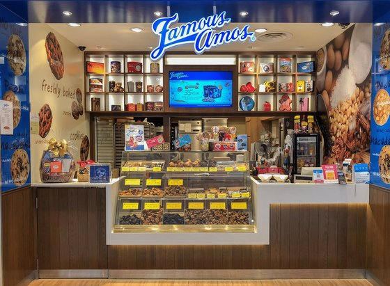 Famous Amos - Chocolate Chip Cookies in Singapore.