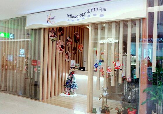 Fish Spa in Singapore - Kenko Wellness VivoCity.