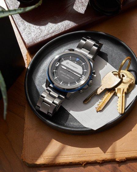 Fossil Hybrid Smartwatch HR Latitude Black Stainless Steel - FTW7021 - Fossil Product Hybrid Smartwatch HR Latitude .