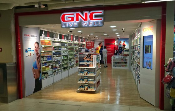 GNC Supplement Stores in Singapore - The Paragon Mall.