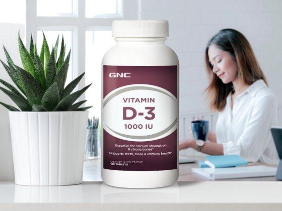 GNC Vitamin D.