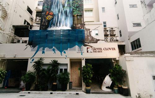Hotel Clover The Arts Singapore.