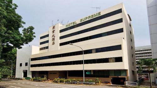 Hotel Supreme Singapore.
