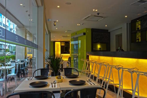 J8 Cafe at J8 Hotel  in Singapore.