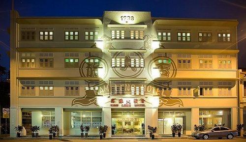Kam Leng Hotel in Singapore.