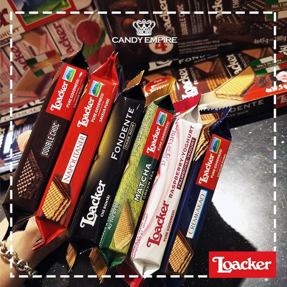 Loacker Wafer Candies - Candy Empire.