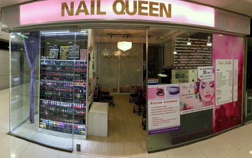 Nail Queen salon at Far East Plaza mall in Singapore.