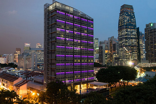 Orchid Hotel Singapore.