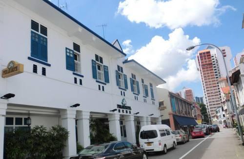 Perak Hotel in Singapore.