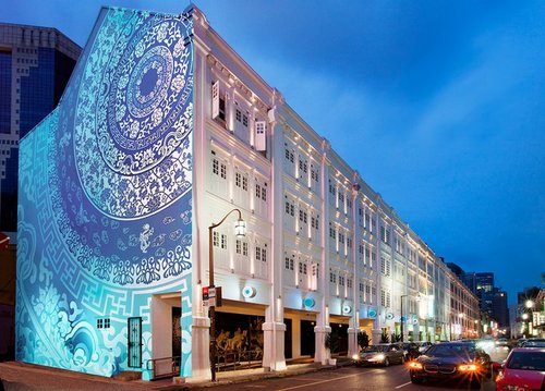 Porcelain Hotel by JL Asia in Singapore.