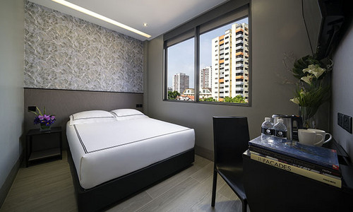 Premier room at Hotel Classic by Venue in Singapore.