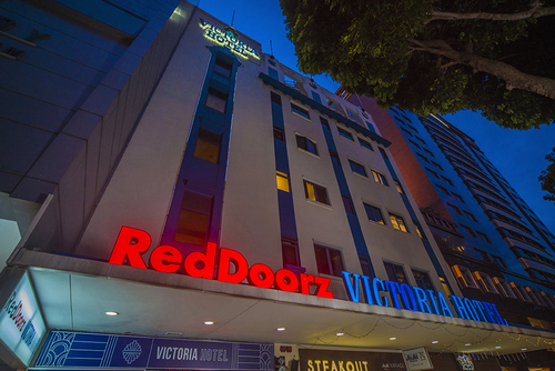 RedDoorz Plus Victoria Hotel in Singapore.