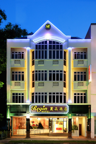 Regin Hotel in Singapore.