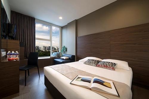 Superior Plus Room at Value Hotel Thomson Singapore.