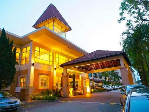 The Arena Country Club resort hotel in Singapore.