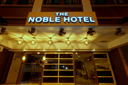 The Noble Hotel in Singapore.