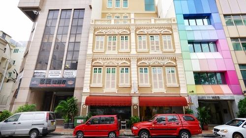 Zen Rooms Clarke Quay hotel in Singapore.