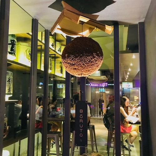 Boruto Japanese-Italian restaurant in Singapore.