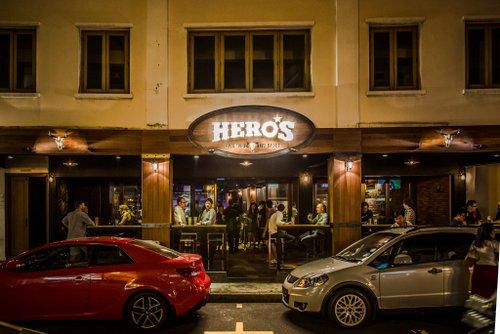 Hero's bar in Singapore.