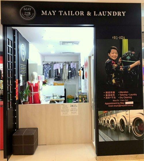 May Tailor & Laundry - JCube.