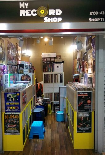 My Record Shop at Far East Plaza mall in Singapore.