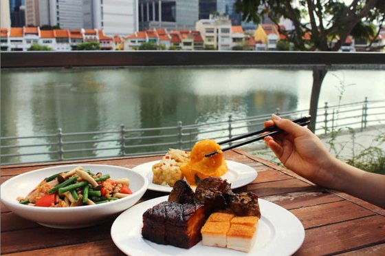Riverview Restaurant in Singapore.