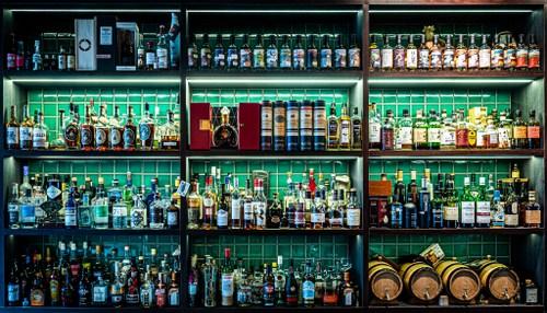 Shin Gi Tai cocktail bar in Singapore.