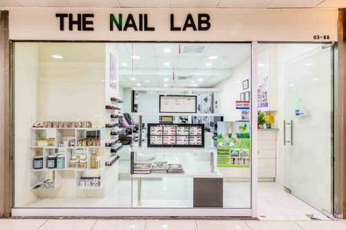 The Nail Lab salon at Far East Plaza mall in Singapore.