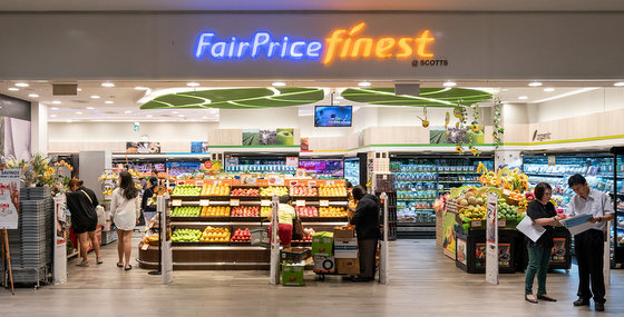 FairPrice Finest Outlets in Singapore - Scotts Square.
