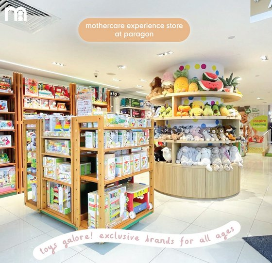 Mothercare Baby Toys in Singapore - Paragon.