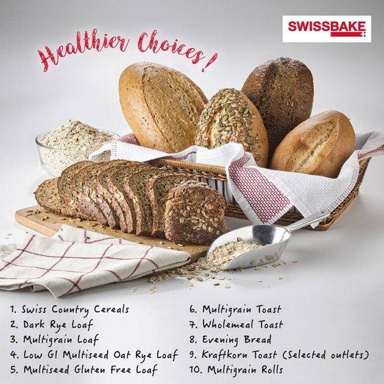 Swissbake Bread in Singapore.