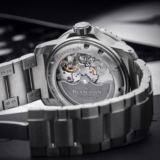 Blancpain Watch Singapore - Fifty Fathoms Grande Date Watch.