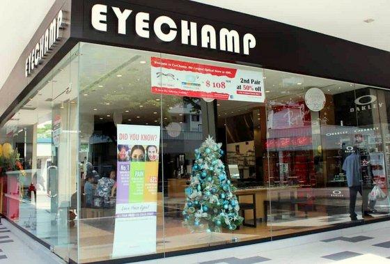 EyeChamp Optometrists Jubilee Square.