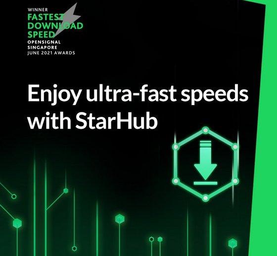 Fastest Broadband in Singapore - StarHub Shop.