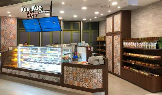 Kue Kue Nyonya Singapore - Outlet at Oasis Terraces.