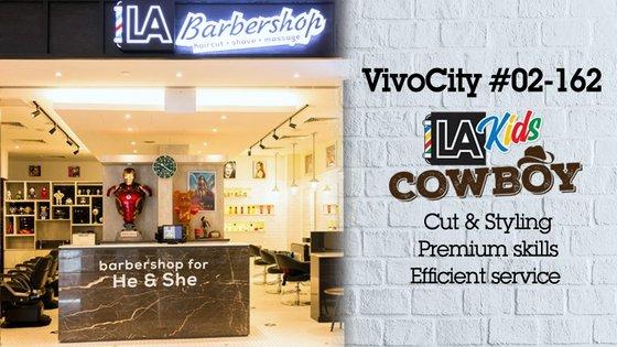 LA Kids Cowboy VivoCity - Children's Hair Salons in Singapore.