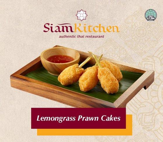 Lemongrass Prawn Cakes - Thai Restaurants in Singapore.