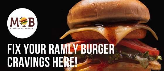 Ministry of Burgers Singapore - Ramly Burger.