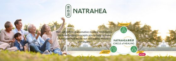 NATRAHEA Chiropractic Clinic in Singapore.