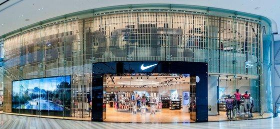 Nike Shop Jewel Changi Airport.