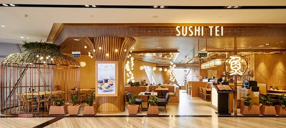 Sushi Tei Outlets - Jewel Changi Airport.