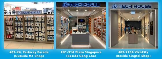 Tech House shops Singapore.