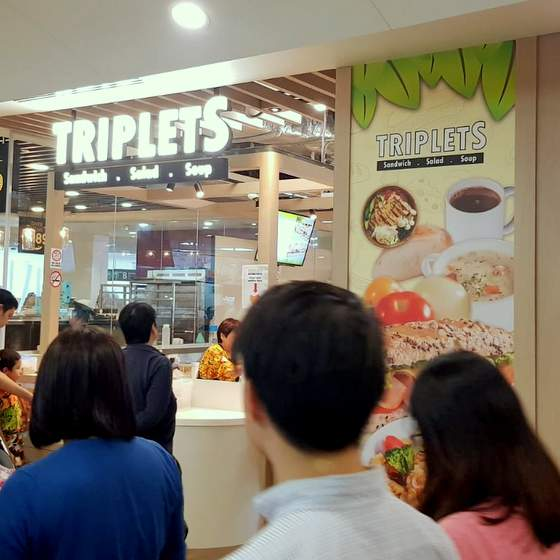 TripletS by Bakery Cuisine - Outlet at Ng Teng Fong General Hospital.