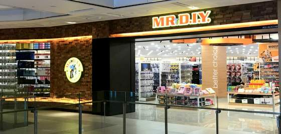 MR D.I.Y. outlets Singapore - Store at WestGate.